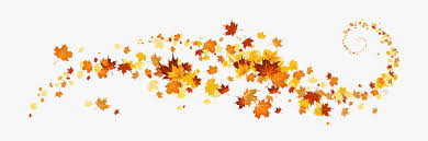 Fall leave banner